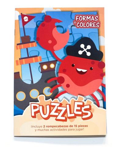 Libropuzzlesn°5: Formasycolores