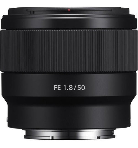 Lente Sony Fe 50mm F/1.8 E-mount Full Frame (sel50f18f)