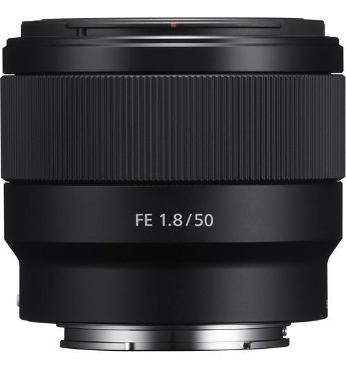 Lente Sony Fe 50mm F/1.8 E-mount Full Frame (sel50f18f)