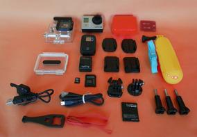 Gopro Hero 3 Black + Controle + Cartão 32gb + A Vista 799,00