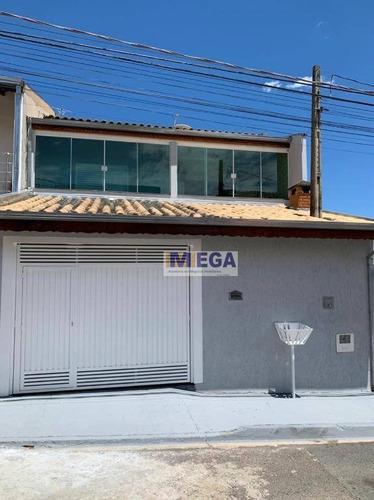 Casa Com 4 Dormitórios À Venda, 200 M² Por R$ 413.400,00 - Jardim San Diego - Campinas/sp - Ca2259
