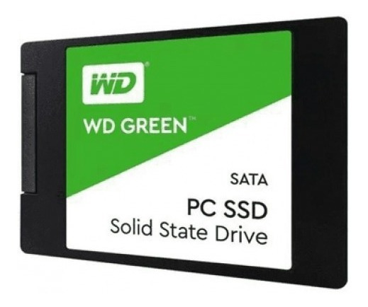 Ssd Wd Green 240gb 2,5 7mm Sata 3