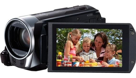 Câmera Filmadora Canon Vixia 1080p 60 Fps Zoom Ótico