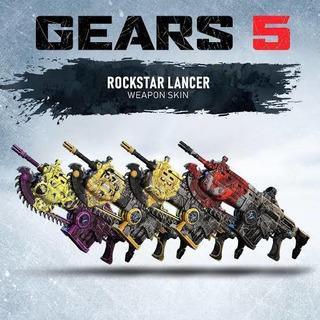 Código Pack De 4 Skins Lancer Rockstar, Solo Código, Último.