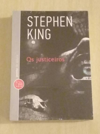 Stephen King - Os Justiceiros - Livro Novo- Ponto De Leitura