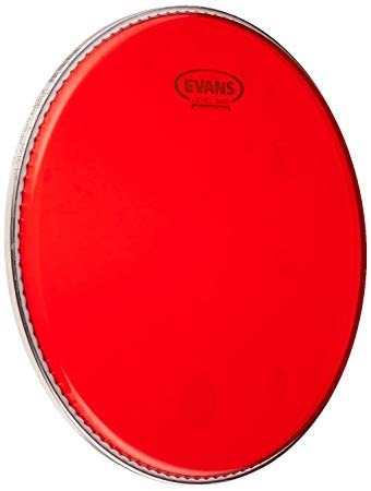 Imagen 1 de 5 de Parche Evans Usa  Tt13hr Rojo Hidraulico