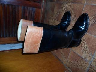 Botas Equitacion Caña Alta Talle 40/41 Y 2 Cascos Gamuza