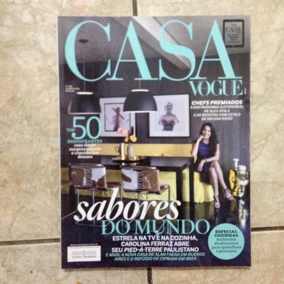 Revista Casa Vogue 348 8.2014 50 Restaurantes Com Décor C2