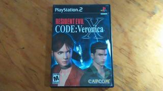 Resident Evil Code: Veronica - Playstation 2 - Original