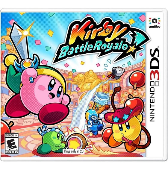 Kirby: Battle Royale 3ds Mídia Física Lacrado