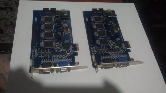Placa Para Camaras Geovision Gv800 Pci Express 64 Bits