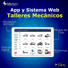 App Y Sistema Web Para Talleres Mecánicos