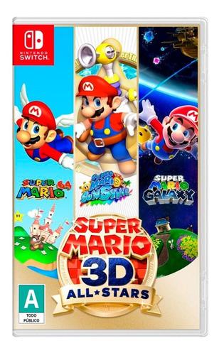 Imagen 1 de 5 de Super Mario 3d All-stars - Nintendo Switch