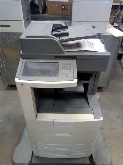 Impressora Multifuncional Lexmark X658 Dfe Com Grampeamento