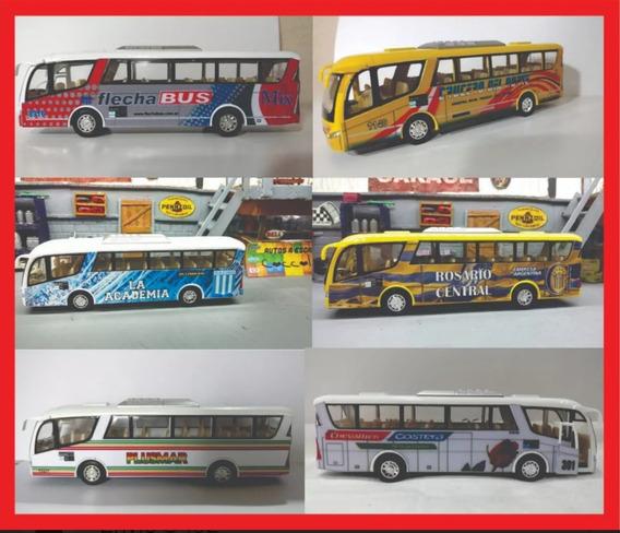 Micros Metalicos 19 Cm Futbol O Empresas Bus Colectivo