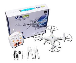 Dron Cuadricoptero Con Camara De Video Y Fotografica Hd