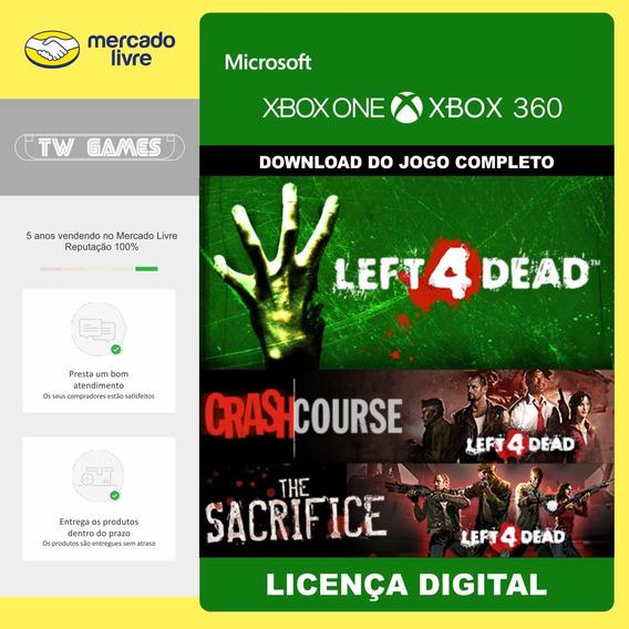 L4d Left 4 Dead + 2 Dlc Digital Retrocompativel Xbox One
