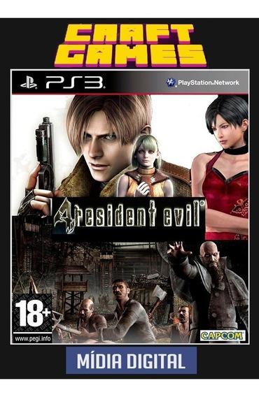 Resident Evil 4 Ps3 Psn Digital Game