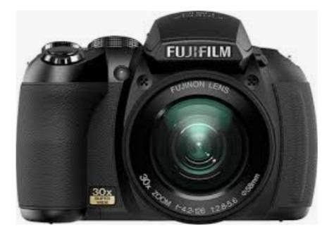 Camera Fuji Semiprofissional 30x Zoom Ótico