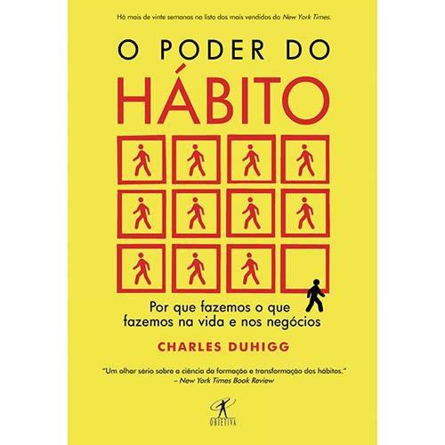 Livro O Poder Do Hábito Charkes Duhigg