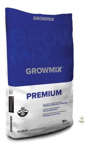 Sustrato  Growmix Premium T Citricos 80 L Grow Valhalla