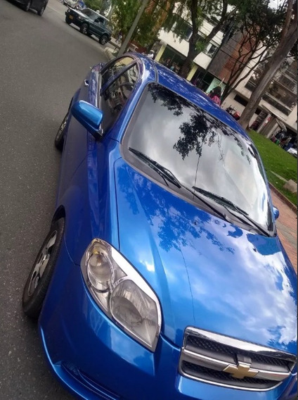 Aveo Emotion Modelo 2008 Azul 1600 - 114.000 Km