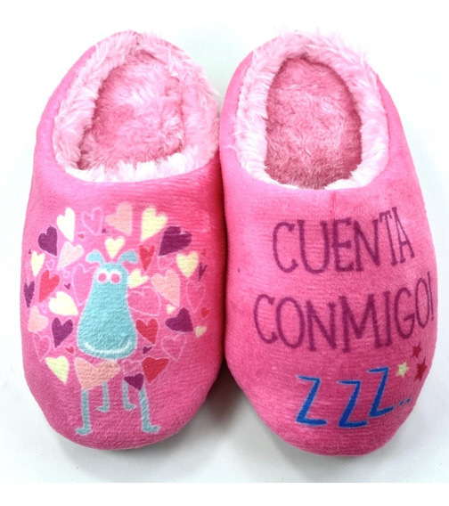 Pantufla Con Peluche Niña (24 Al 35)