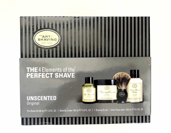 Set De Afeitado - Barba - The Art Of Shaving Set (sin Aroma)