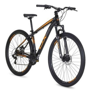 Bicicleta Mtb Ox Bike Aro 29 Hard Glide - Preto E Laranja