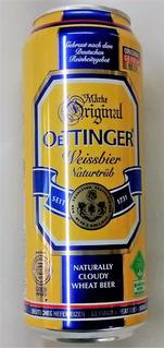 Cerveza De Trigo Oettinger De Alemania X 500 Cc