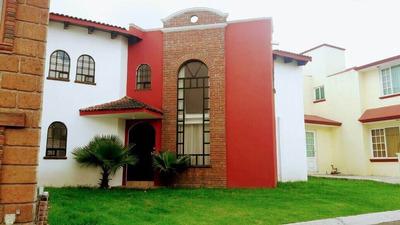 Casa En Renta En Metepec, Muy Cerca Tecnologico