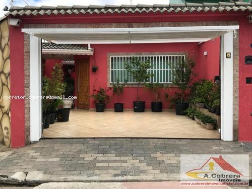 Casa Térrea Para Venda Em Guarulhos, Gopoúva, 3 Dormitórios, 3 Suítes, 4 Banheiros, 3 Vagas - 222000 Ca_2-934100