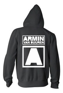 Campera Armin Van Buuren Logo Color Animal