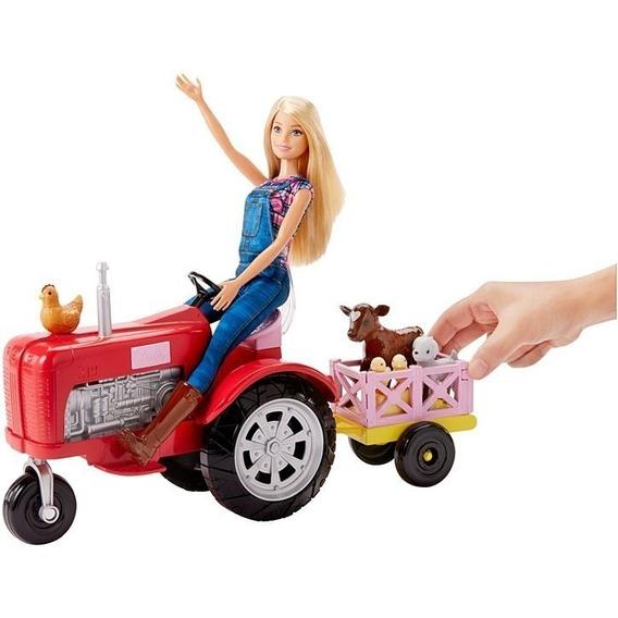Barbie Fazendeira E Trator Matell