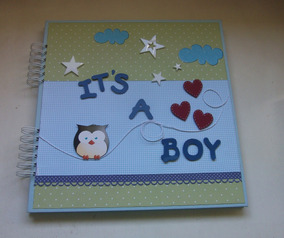 Álbum Scrapbook Baby Boy