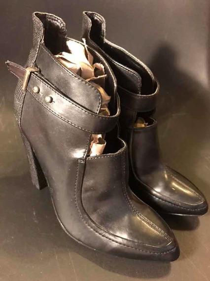 Zapato Mujer Dama Moda Marca Forever 21 Talla 2.5 Mex Botas