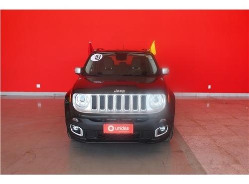 Jeep Renegade 1.8 16v Flex Limited 4p Automático
