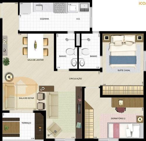 Imagem 1 de 3 de Apartamento - Ref: 10383