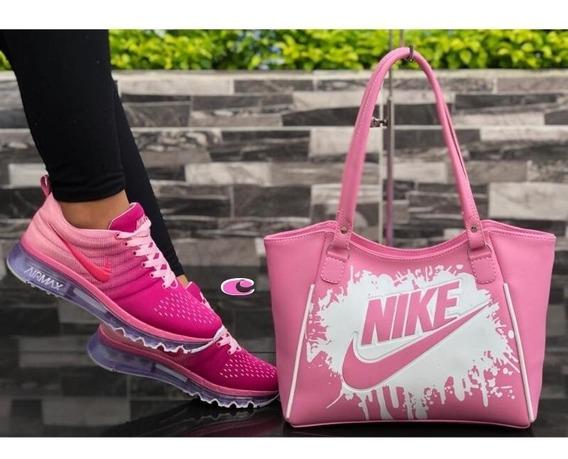 Zapatos Mujer, Tenis Nike Air 2014,+ Bolso Mujer, Zapatillas