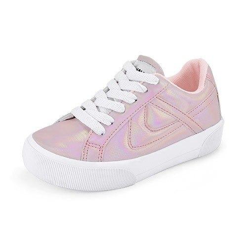 Tenis Niña Urbano Panam,rosa Tornasol Moda, Envio Gratis
