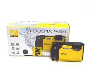 Camara Nikon Video Profecional Coolpix W300 Wi-fi Usado (g)