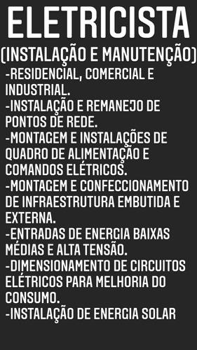 Eletricista Instalação E Manutenção