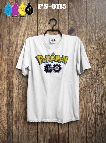 Camisas Sublimadas De Pokemon Go