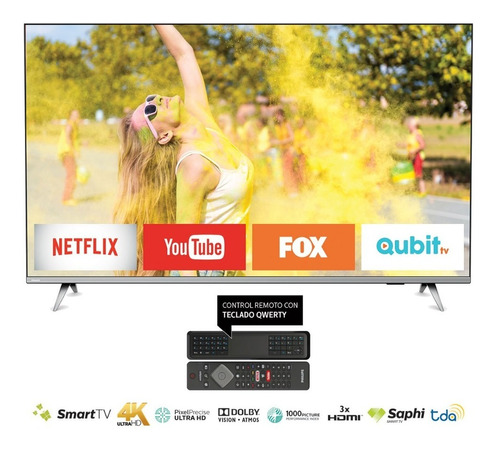 Smart Tv Philips 50  4k 50pud6654/77