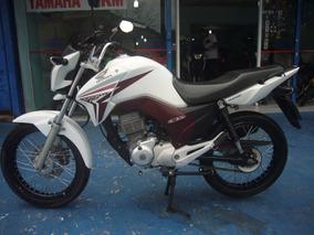 Honda Cg 150 Titan Esd Flex 2014 Branca R$ 7.999