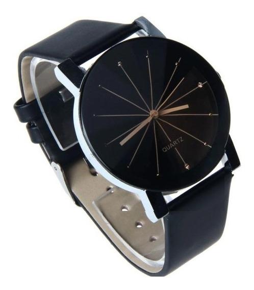 Relógio Pulso Quartz Original Preto