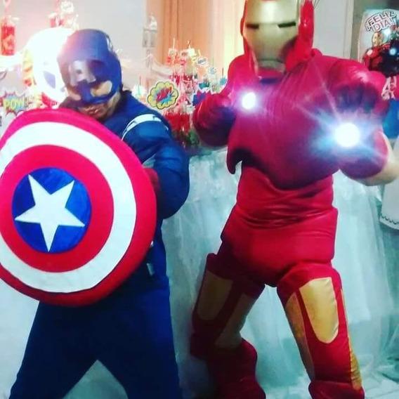 Disfraz Hulk Spider Capitan Iron Batman Superman