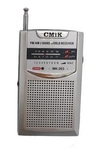 Radio Cmik Mk-203 A Pila Am Fm