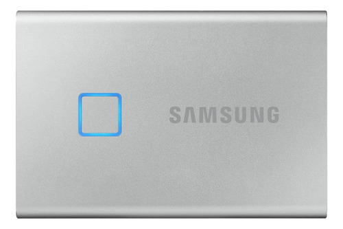 Disco sólido externo Samsung Portable SSD T7 MU-PC500 500GB silver