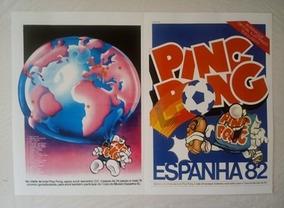 Album De Figurinhas Copa 82-300 Figurinhas - Ping Pong 1982